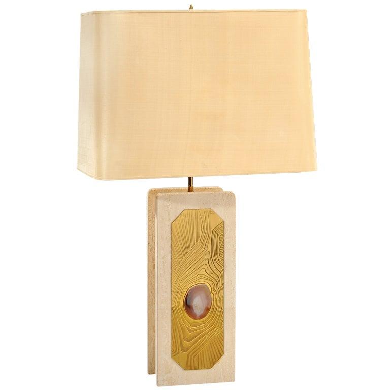 Marble Lamp by Georges Mathias