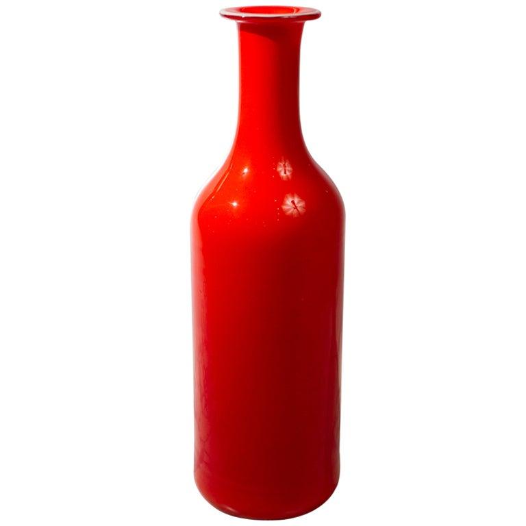 Holmgaard Vase by Otto Bruer