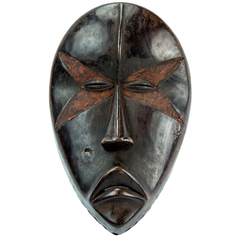 Antique African Ivory Coast Dan Tribal Mask At 1stdibs