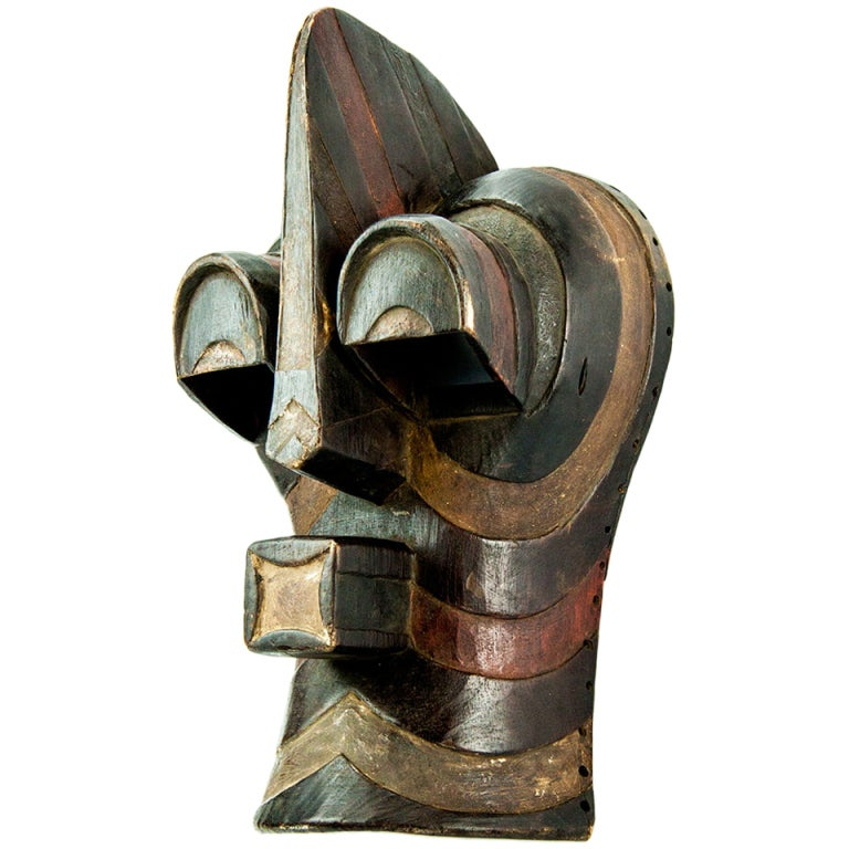 Antique African Congo Songye Tribal Mask At 1stdibs