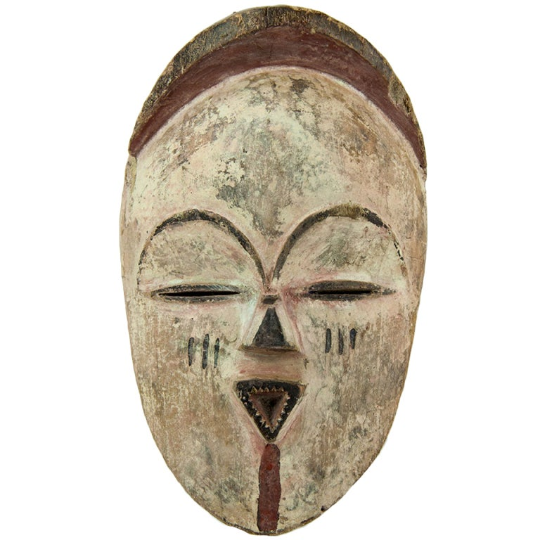 Antique African Gabon Vuvi Tribal Mask At 1stdibs