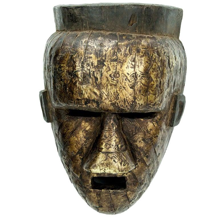 Antique African Congo Salampasu Tribal Mask At 1stdibs