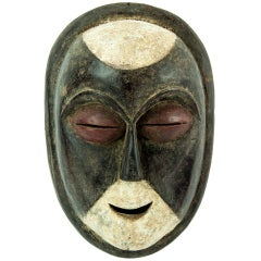 Antique African Gabon Galoa Tribal Mask
