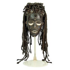 Antique African Angola Chokwe Tribal Mask