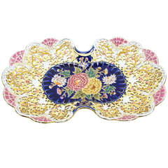 Rare and Beautiful Antique Zsolnay Porcelain Platter, circa 1900