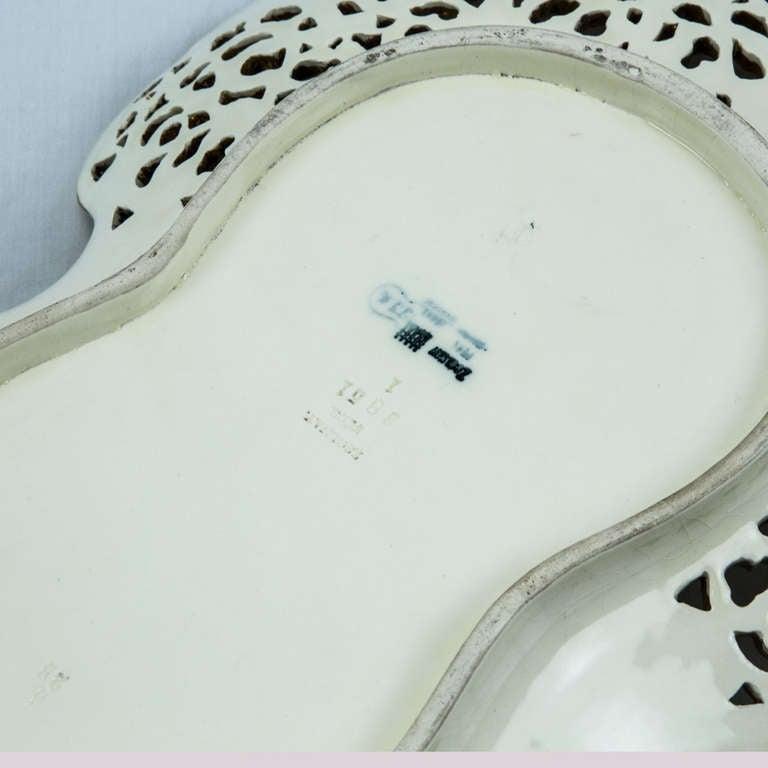 Rare Antique Zsolnay Porcelain Platter circa 1900 at 1stdibs