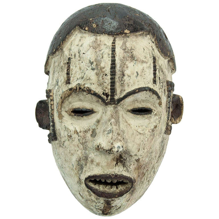 Antique African Nigeria Ibo Tribal Mask At 1stdibs