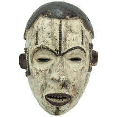 Antique African Nigeria Ibo Tribal Mask