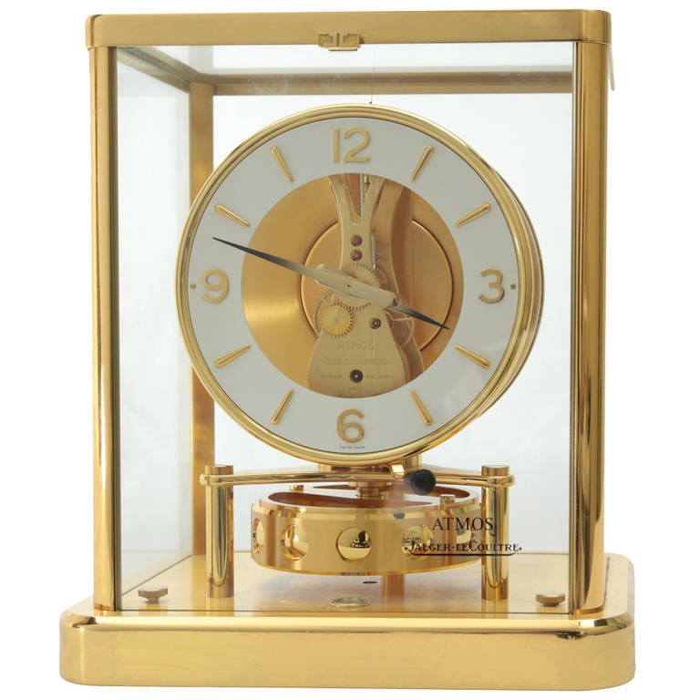 Jaeger-Le Coultre Atmos Clock at 1stdibs