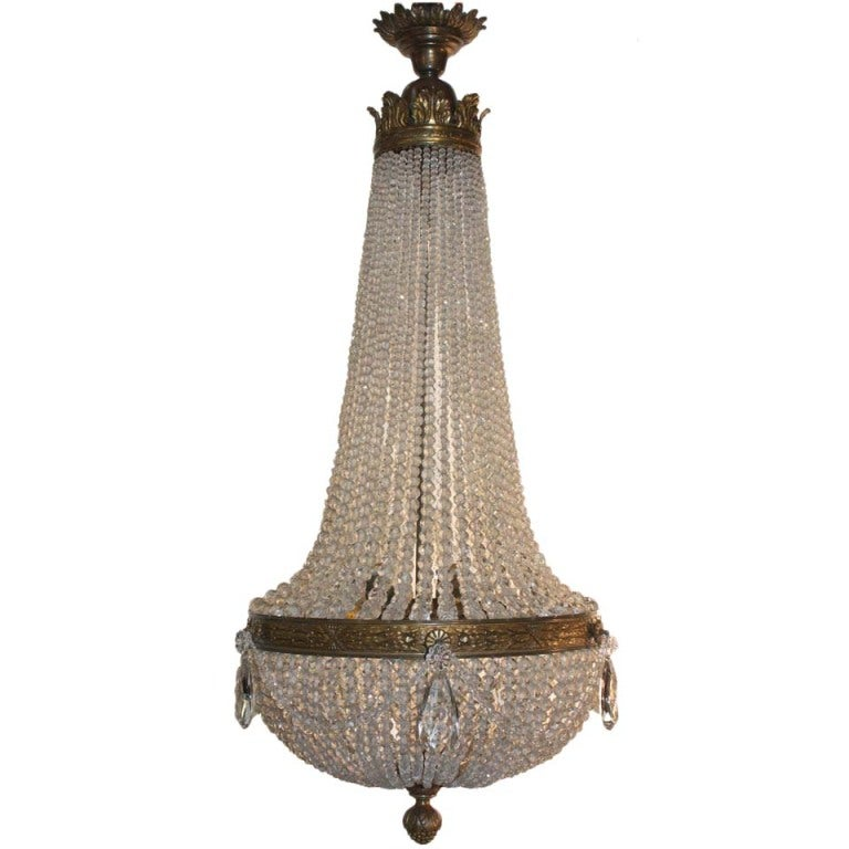 Louis Xvi Style Montgolfi 232 Re Chandelier At 1stdibs
