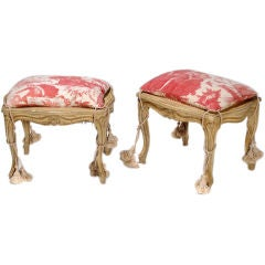 Pair of chippendale mahogany armchairs at 1stdibs for Boudoir stoel