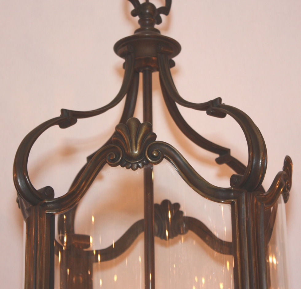 Louis Xv Style Bronze Four Light Lantern At 1stdibs