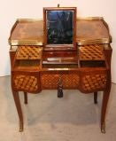 Louis XV Mahogany and Marquetry Dressing Table image 4