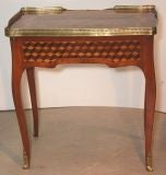 Louis XV Mahogany and Marquetry Dressing Table image 5