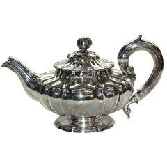 William IV Silver Teapot