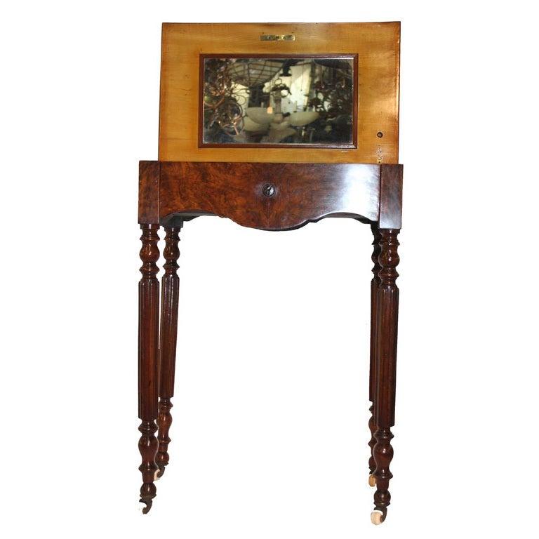 Victorian Figural Walnut Vanity For Sale At 1stdibs