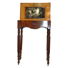 Victorian Circassian Walnut Dressing Table