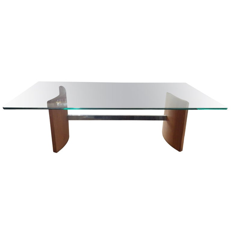 Vladimir Kagan For Selig Coffee Table At 1stdibs