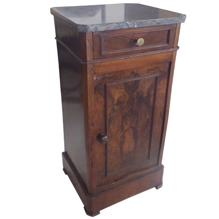 Louis Philippe Stand With Marble Top At 1stdibs