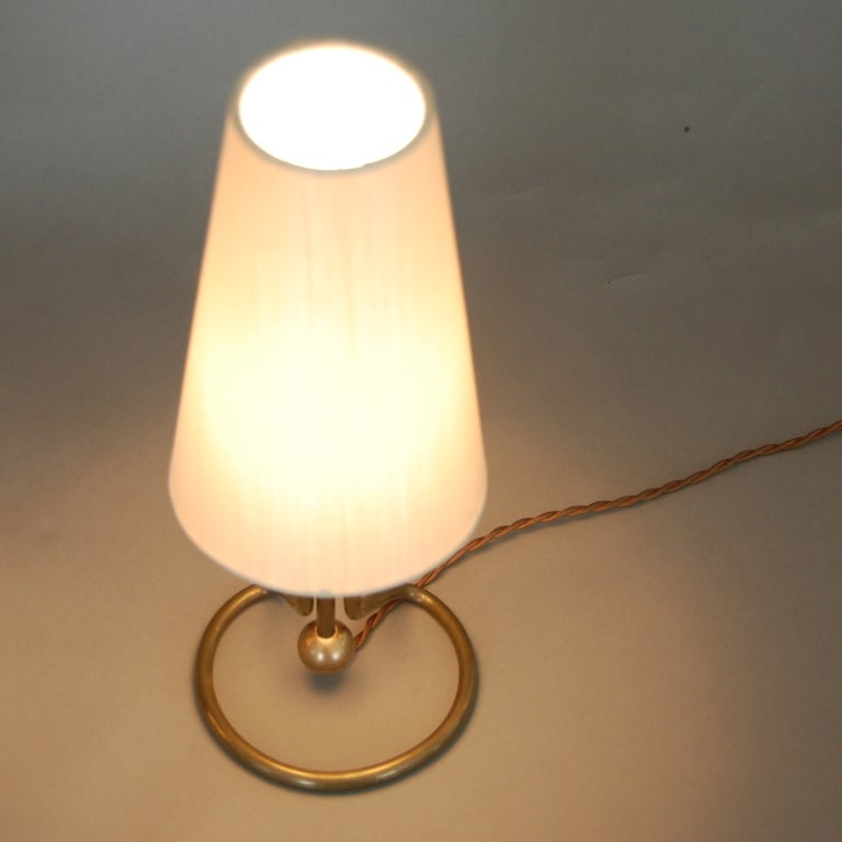 Wall Sconce With Table : Pair of Kalmar Attr Sconces/Table Lamps at 1stdibs