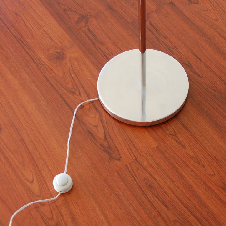 Swing Arm Counter Weight Floor Lamp At 1stdibs