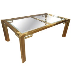 Mastercraft Table With Glass Top