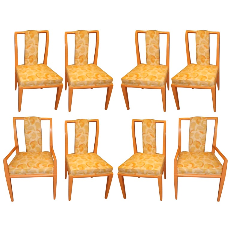 Set of 8 Chairs by Tommi Parzinger