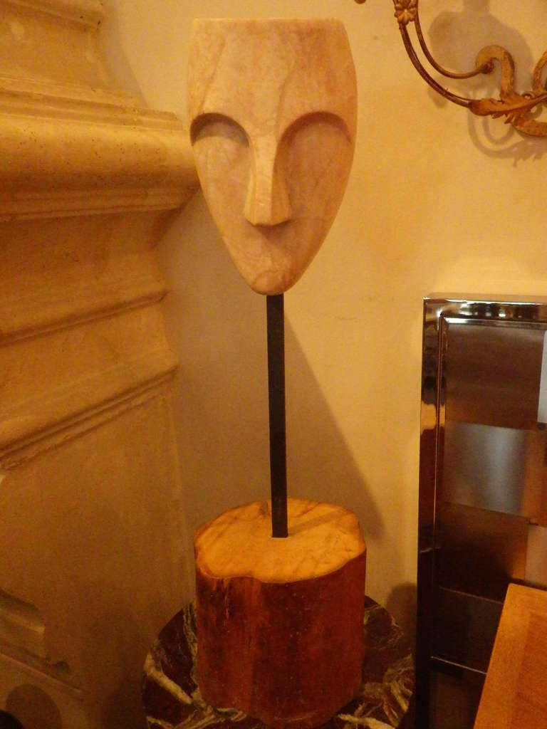 Mask Sculpture 3