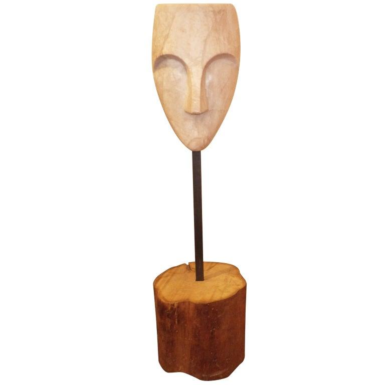Mask Sculpture 1