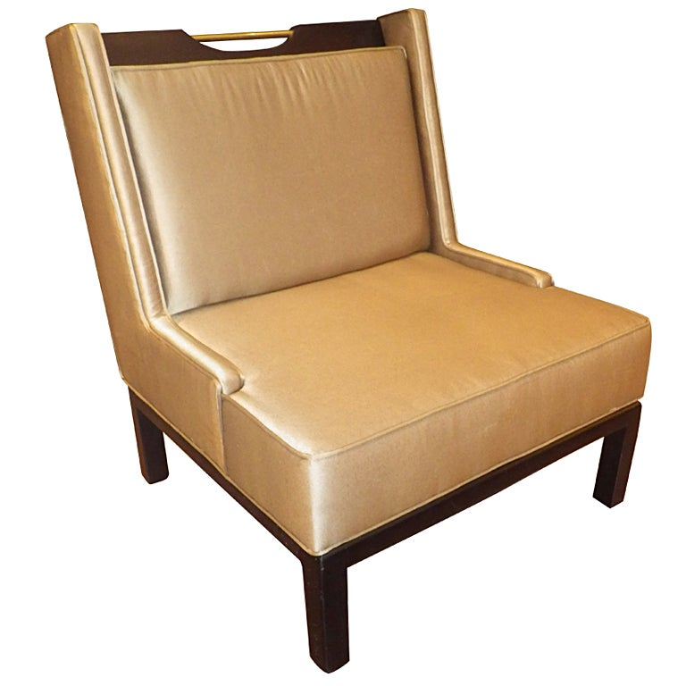 James Mont Slipper Chair For Sale
