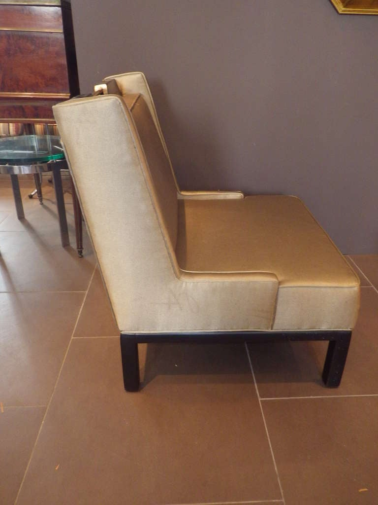 James Mont Slipper Chair In Excellent Condition For Sale In Los Angeles, CA