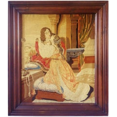 """Romeo & Juliet"" French Tapestry"