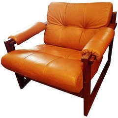 1970s Leather Chair