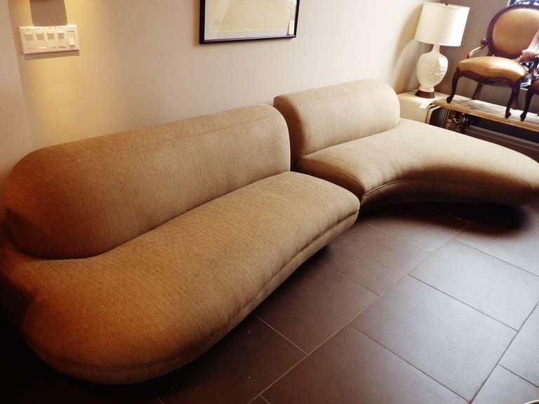 Vlademir Kagan Sofa At 1stdibs