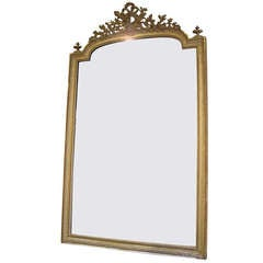 Louis XVI gilt mirror