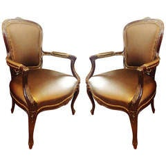 Pair Louis XVI Style Chairs