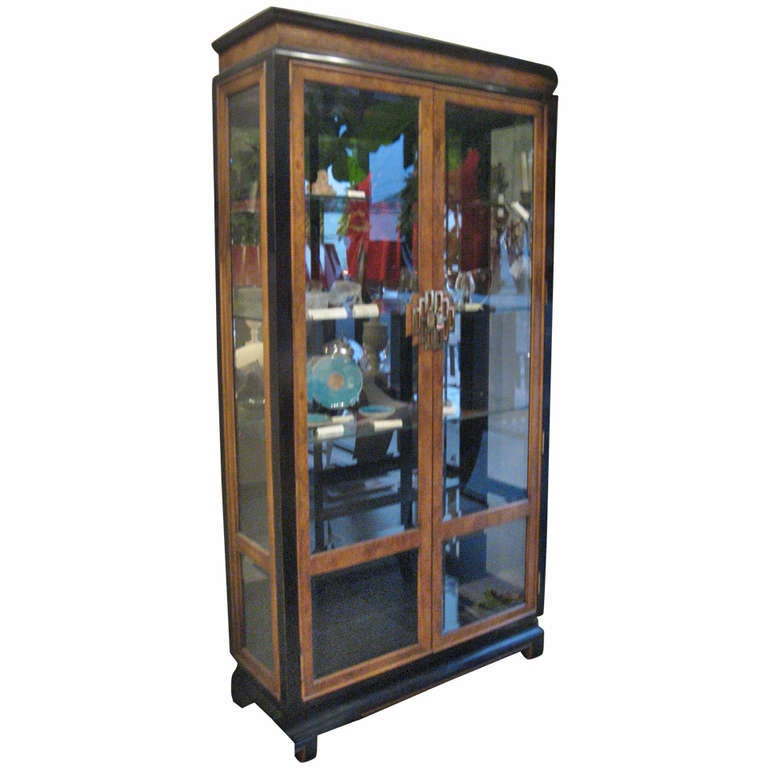 Asian Style Vitrine For Sale