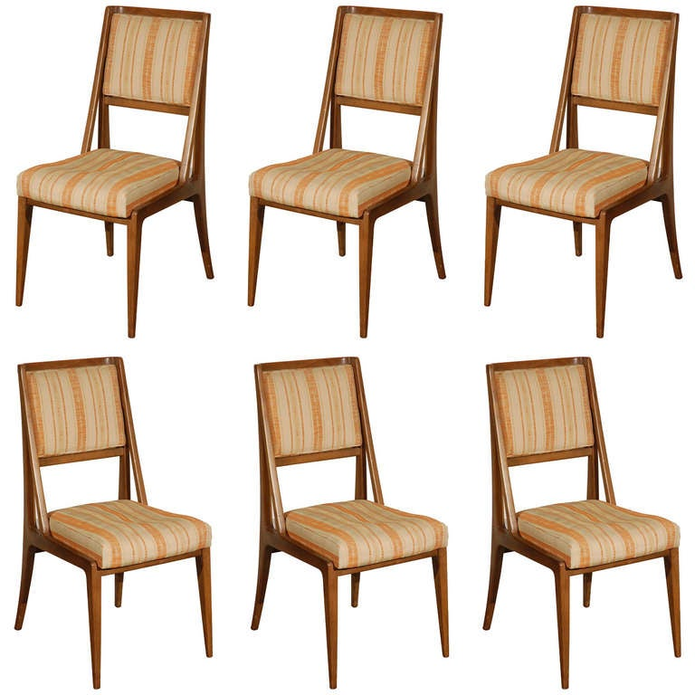 set of six chairs by singer and sons at 1stdibs
