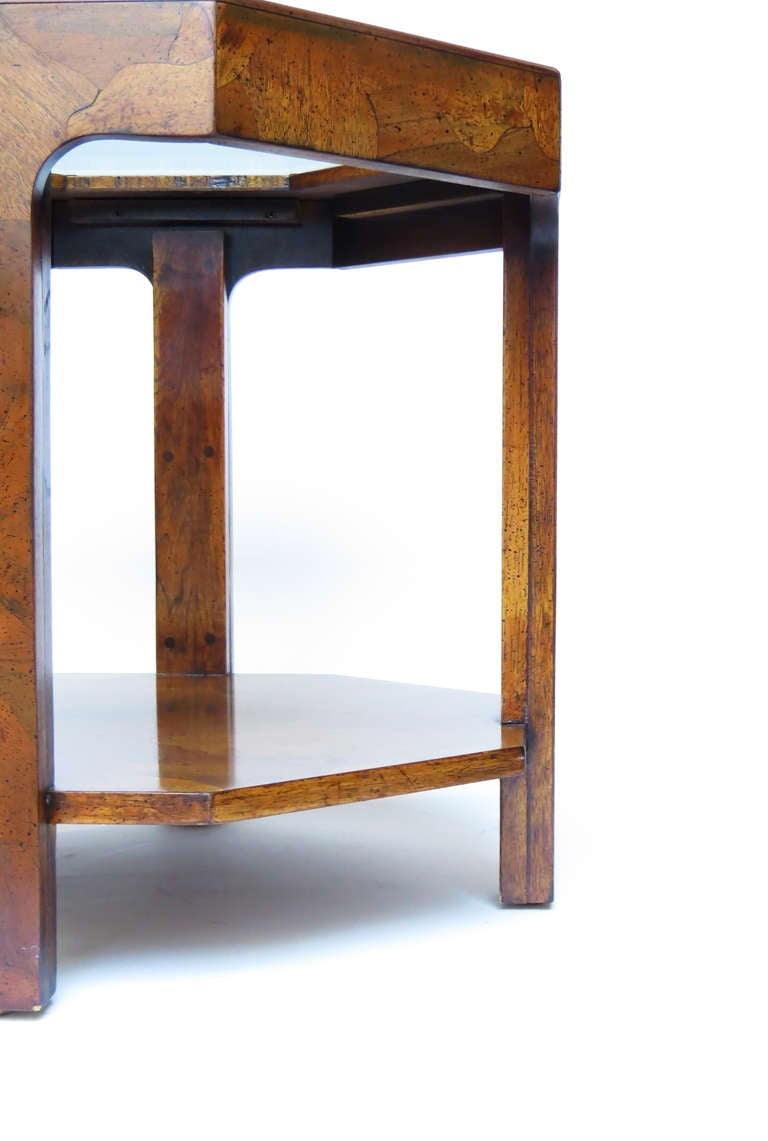 Late 20th Century 1970s Octagonal Side Table For Sale
