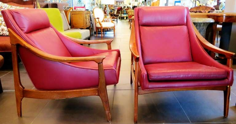 1950s Scandinavian Lounge Chair 4
