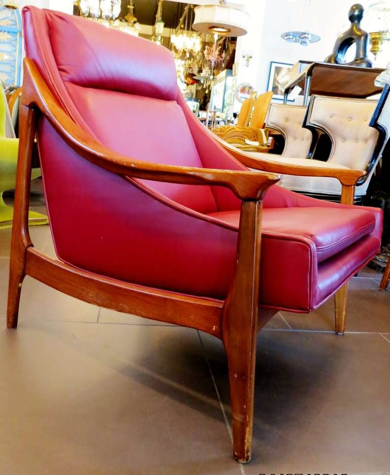 1950s Scandinavian Lounge Chair 6