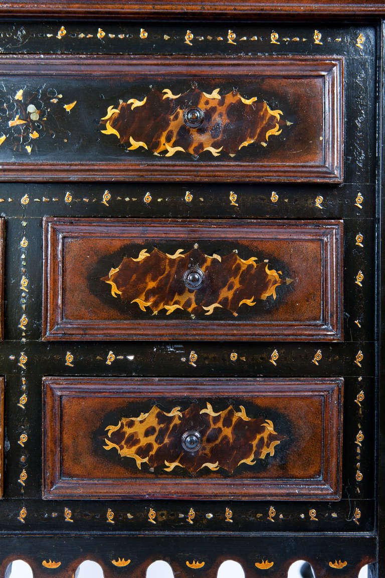 Anglo Indian Secretary With Secret Compartment For Sale At