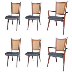 Set of 6 Dining Chairs by Grosfeld House