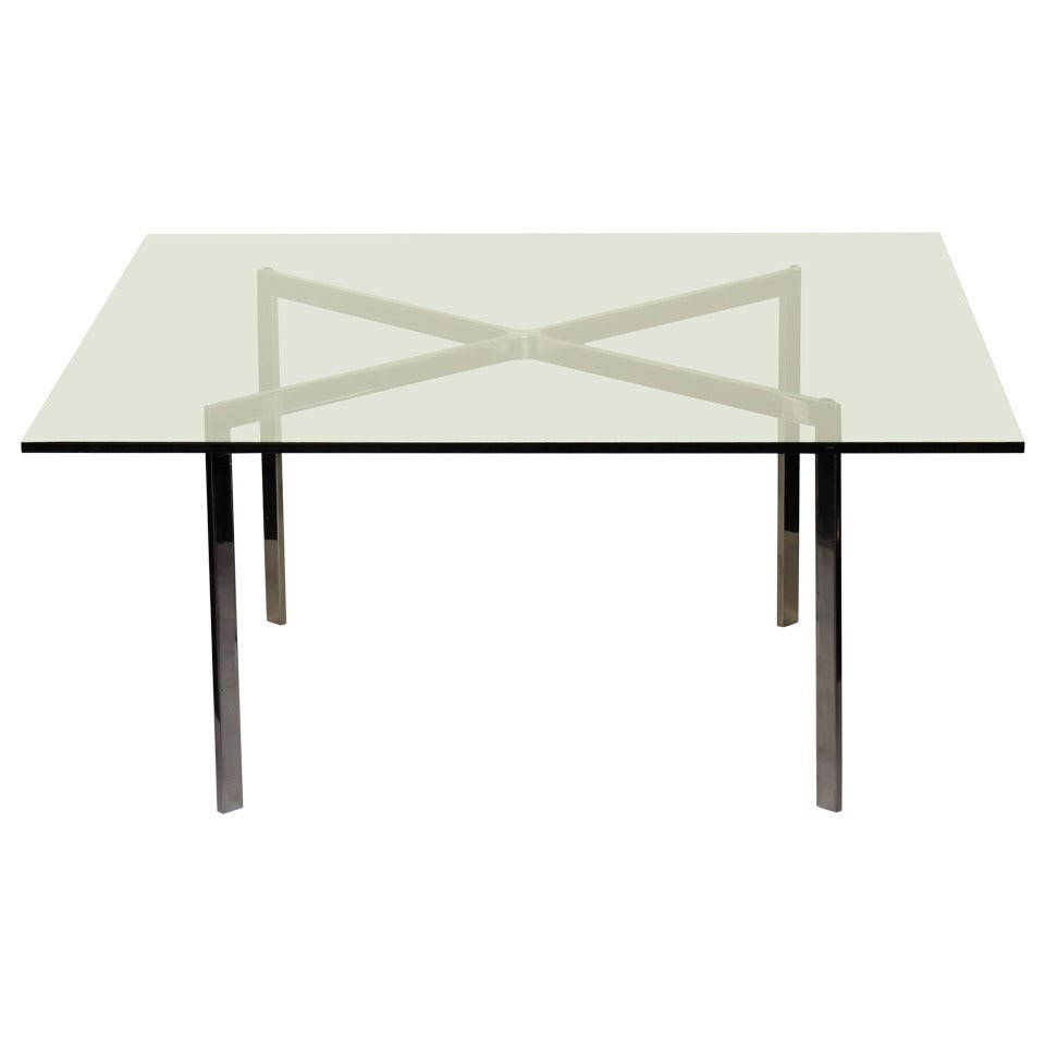 Mies van der rohe for knoll barcelona table at 1stdibs - Barcelona table knoll ...
