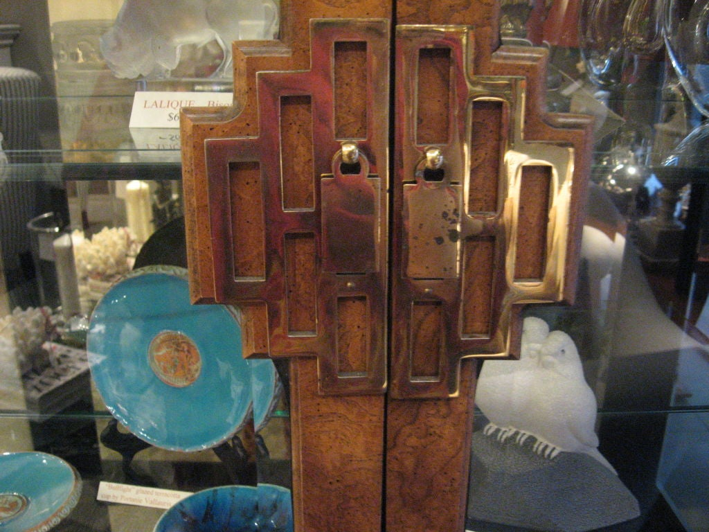 Mid-20th Century Asian Style Vitrine For Sale