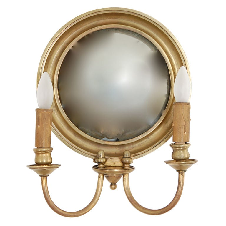 Candelabra Wall Lights : Mirror Candelabra Sconce at 1stdibs