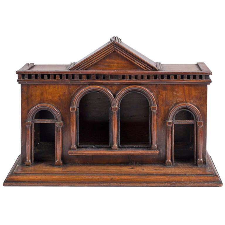 Early 18th Century Italian Architectural Model For Sale At