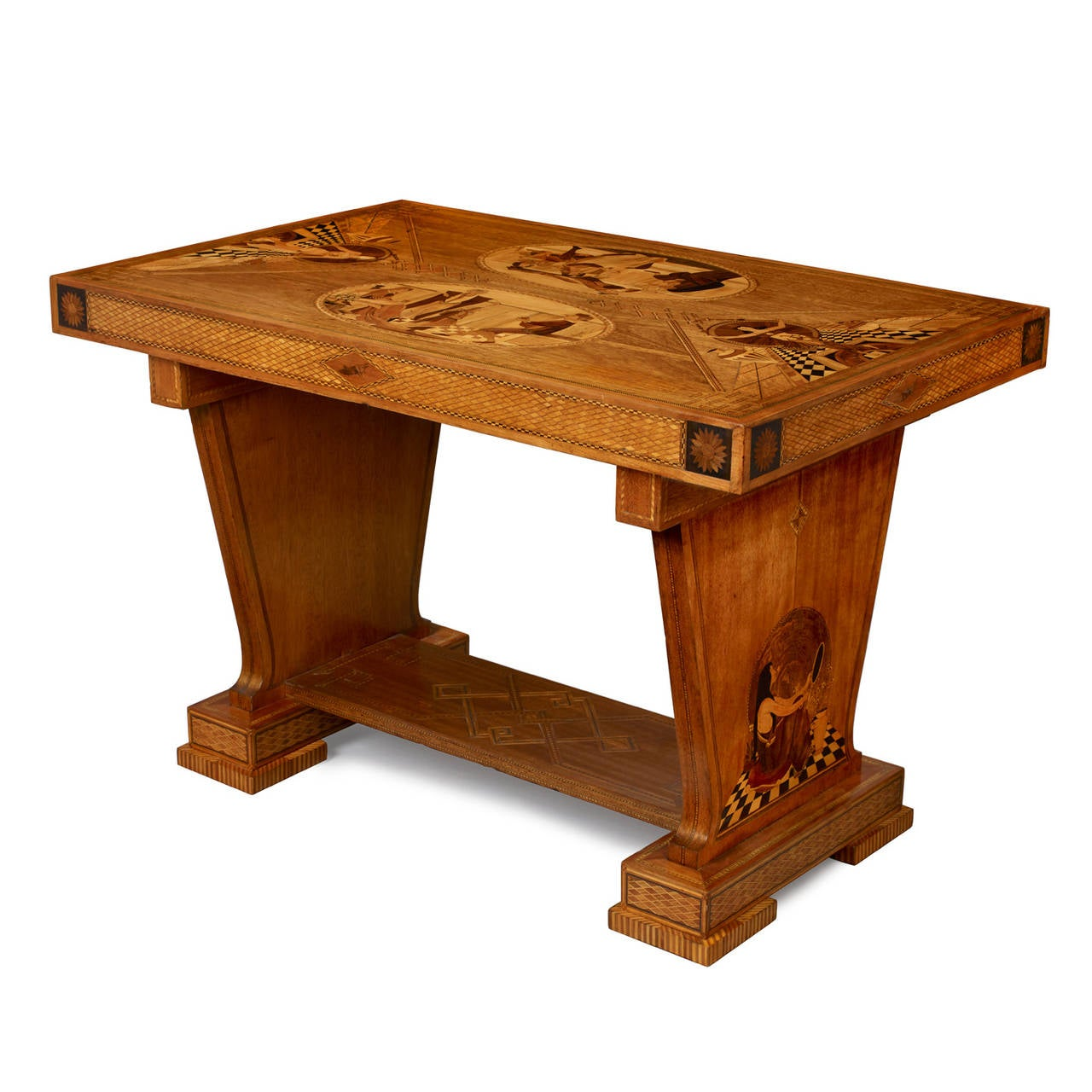 art deco outdoor furniture. art deco marquetry center table 2 outdoor furniture u