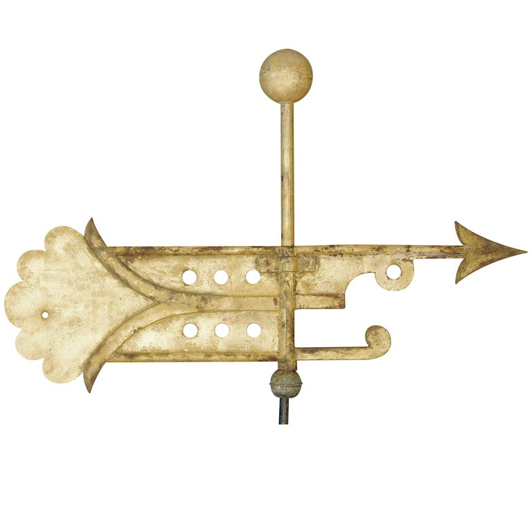 Early Banner Weathervane