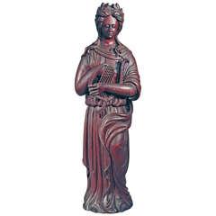"Carved Figure of ""Erato"""